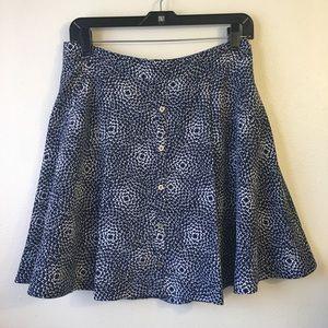 Tommy Hilfiher A Line Flowy Mini Skirt Size 4